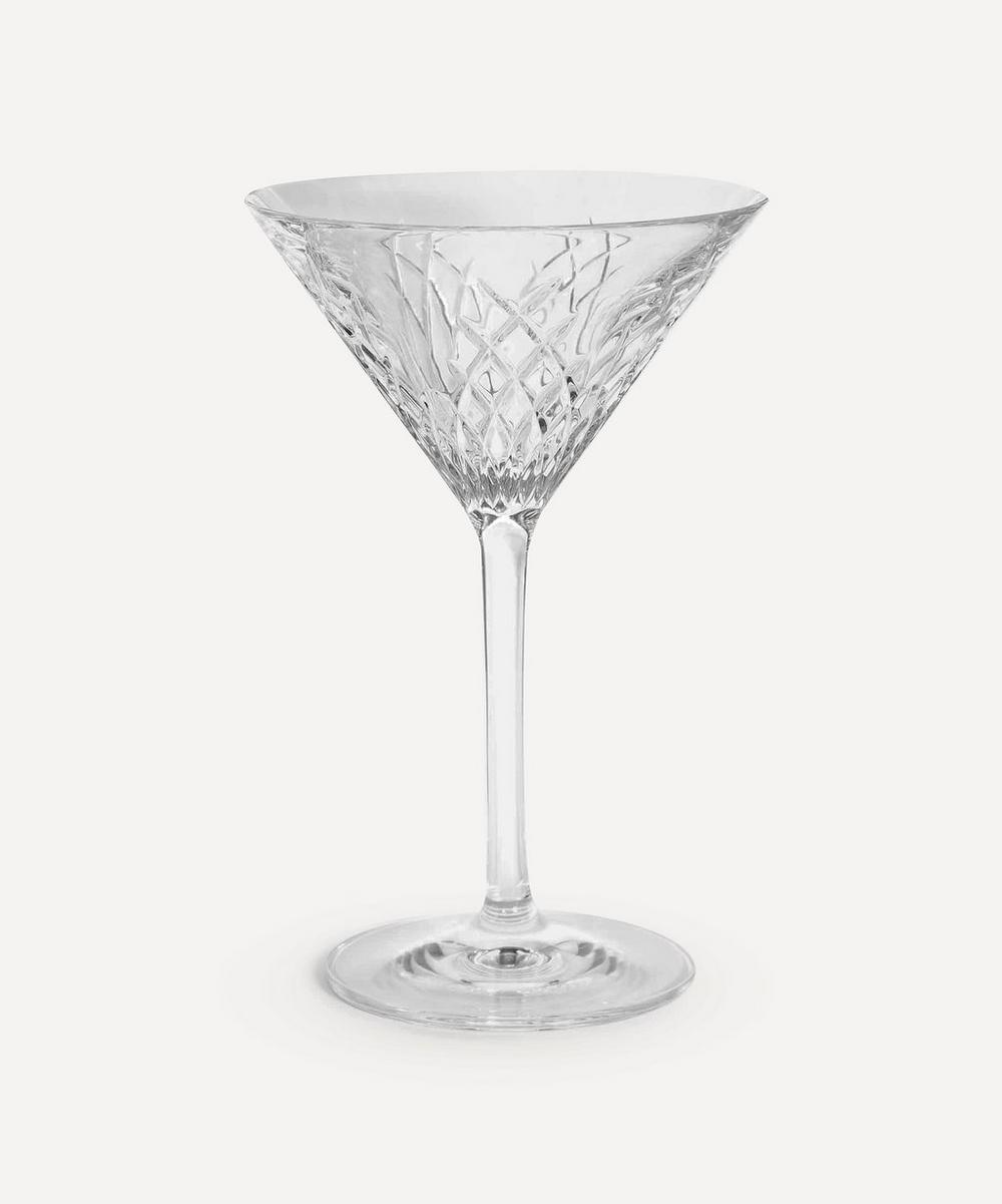 Soho Home - Barwell Cut Crystal Martini Glass