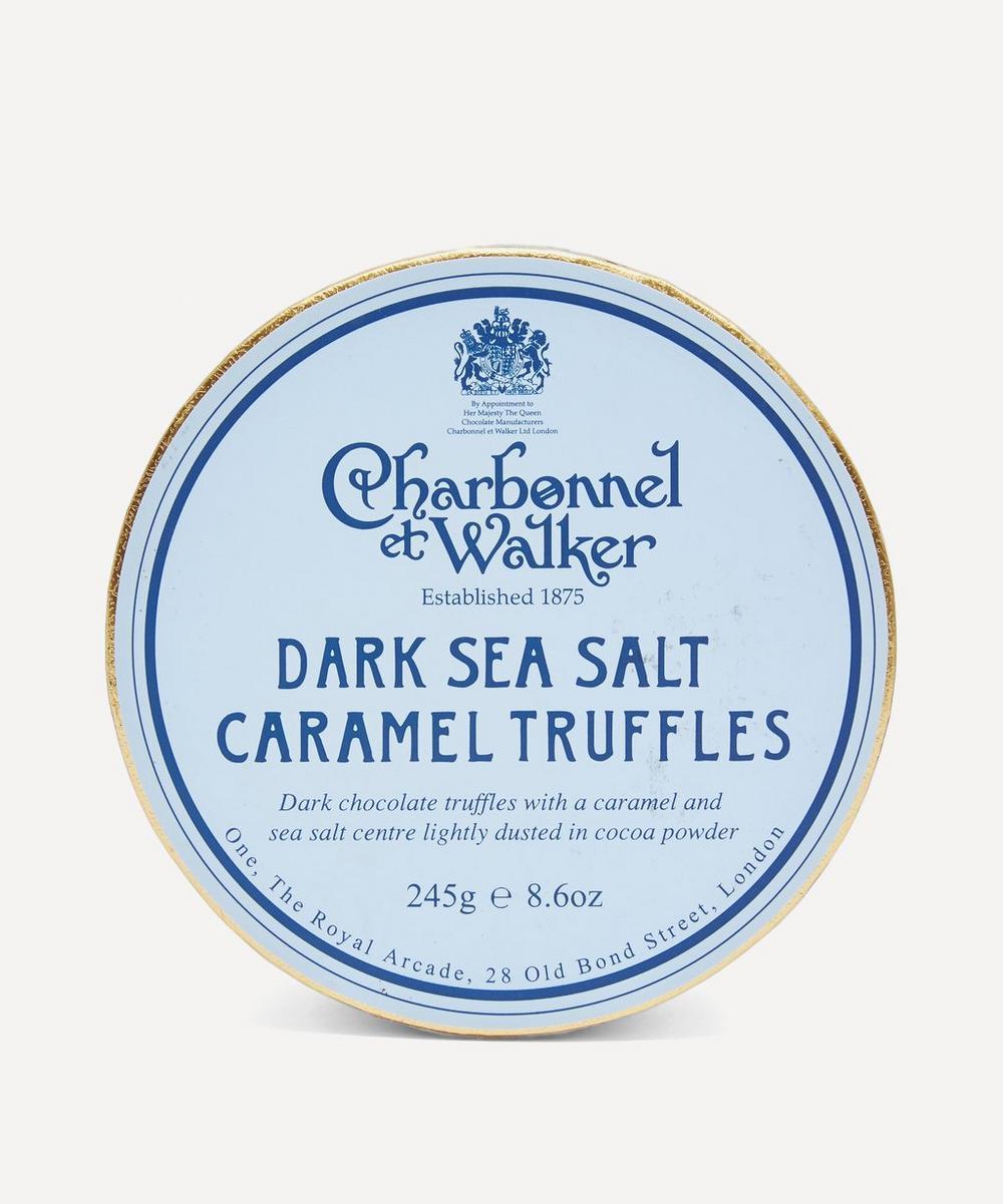 Charbonnel et Walker - Dark Sea Salt Caramel Truffles 245g
