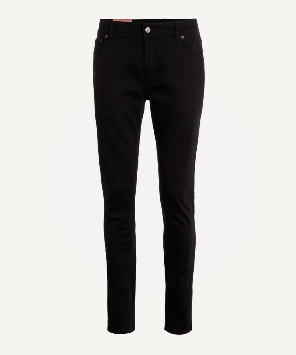Acne Studios - North Stay Black Straight Fit Jeans image number 0