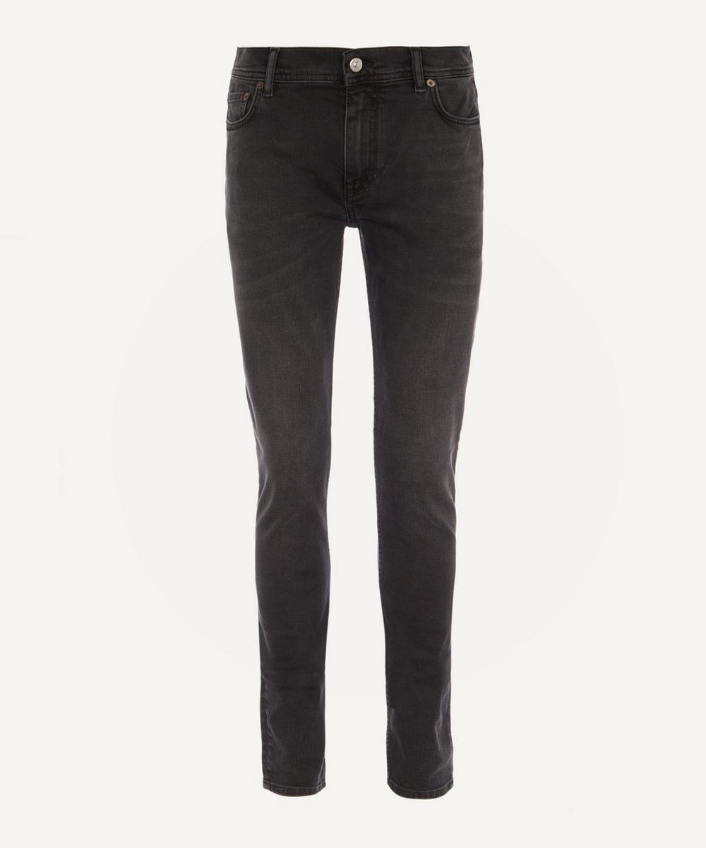 Acne Studios - North Used Black Slim Fit Jeans
