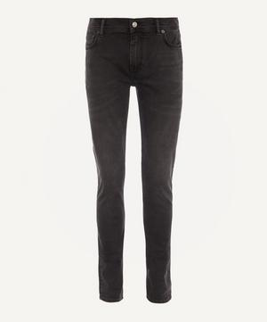 North Used Black Slim Fit Jeans