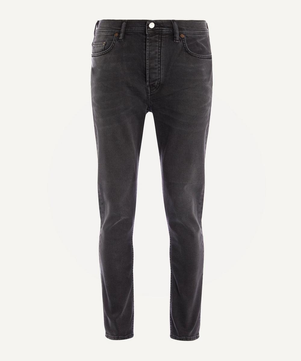 Acne Studios - River Used Black Jeans