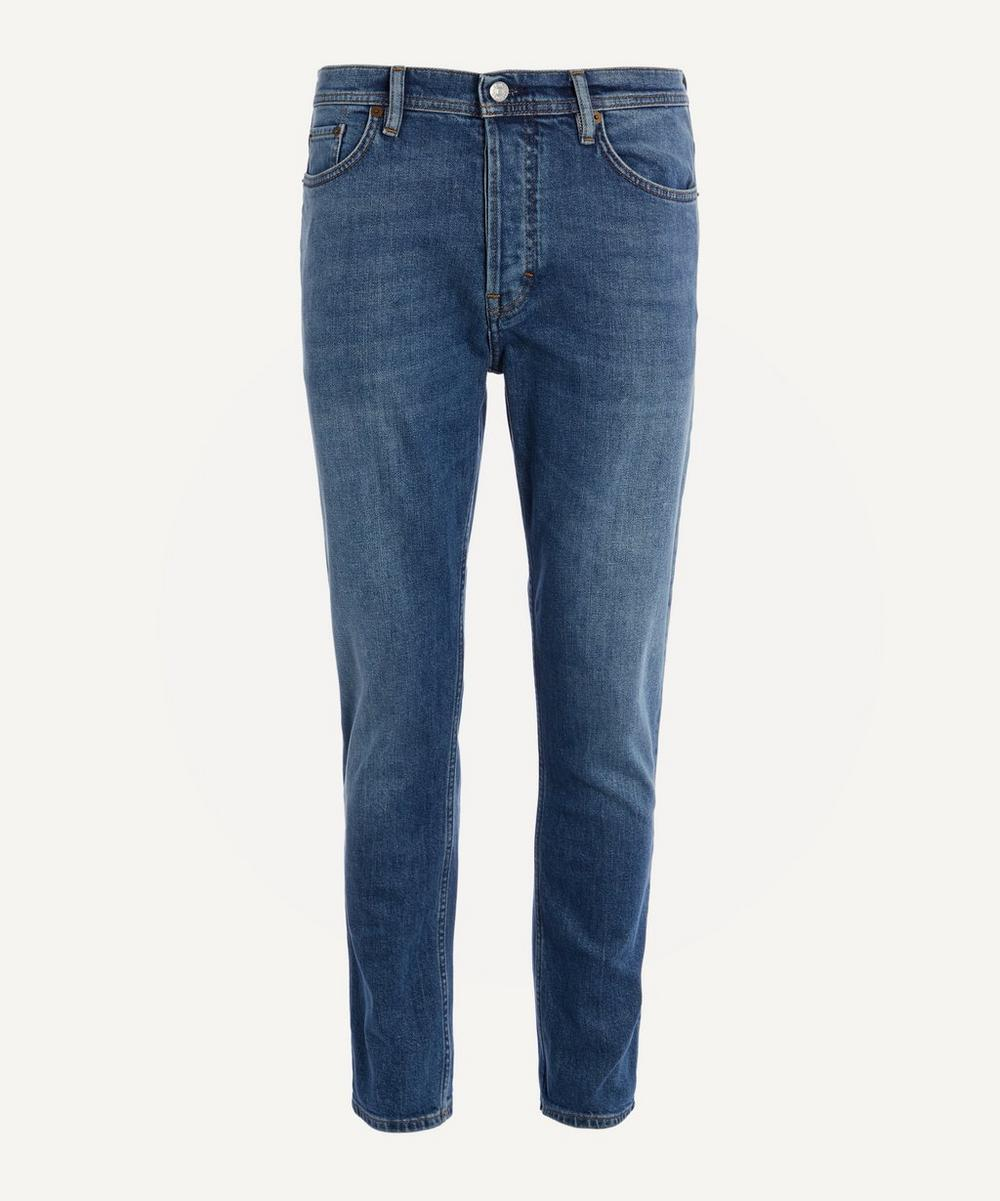 Acne Studios - River Mid Blue Straight Fit Jeans