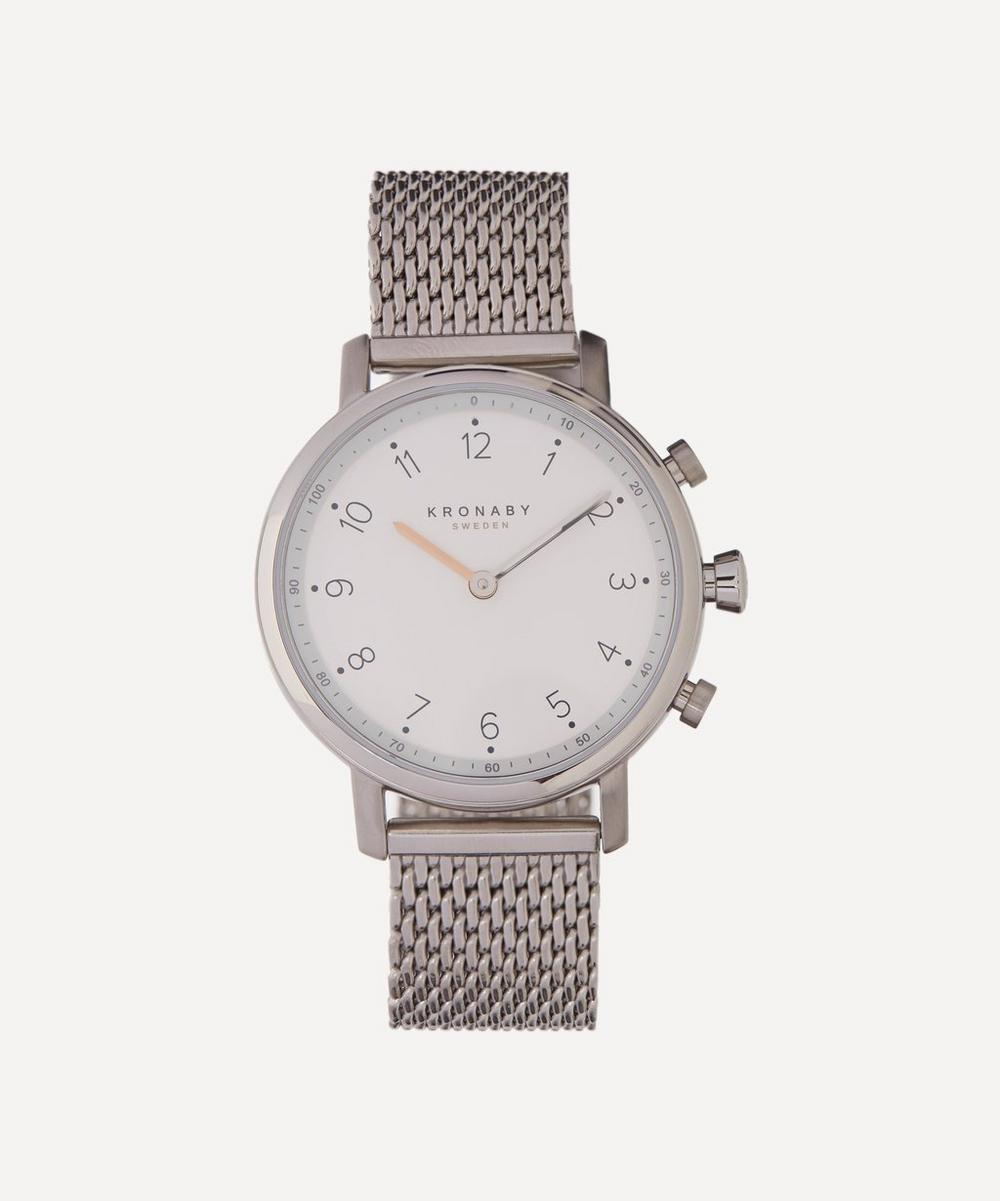 Kronaby - Nord Stainless Steel Mesh Strap Smart Watch