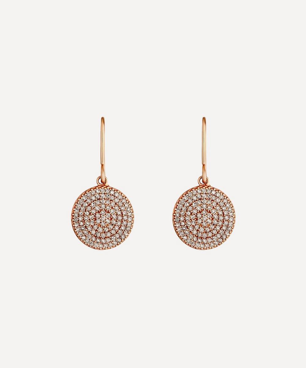 Astley Clarke - Rose Gold Icon Diamond Earrings