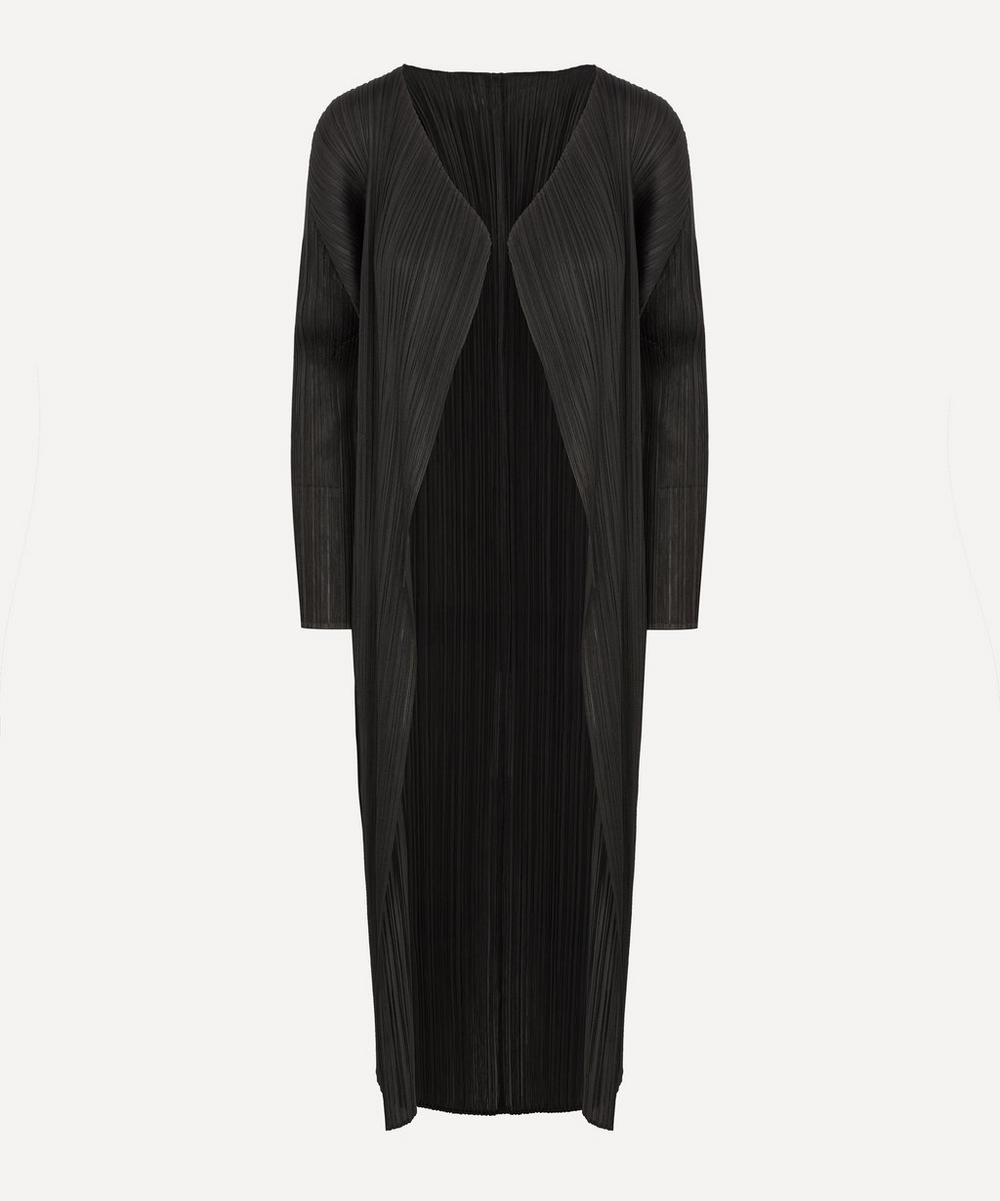 Pleats Please Issey Miyake - Long Coat
