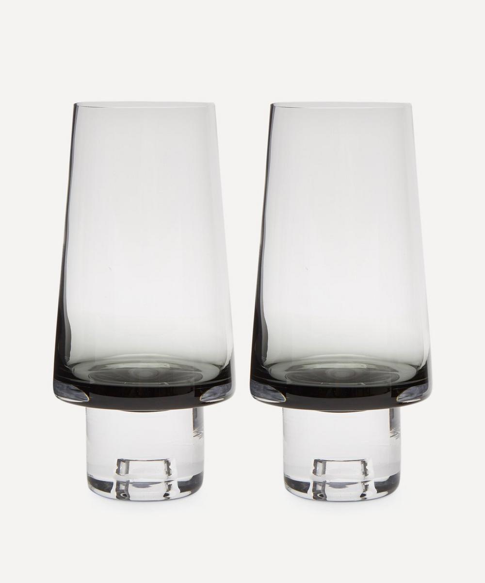 Tom Dixon - Black Tank High Ball Glasses Set