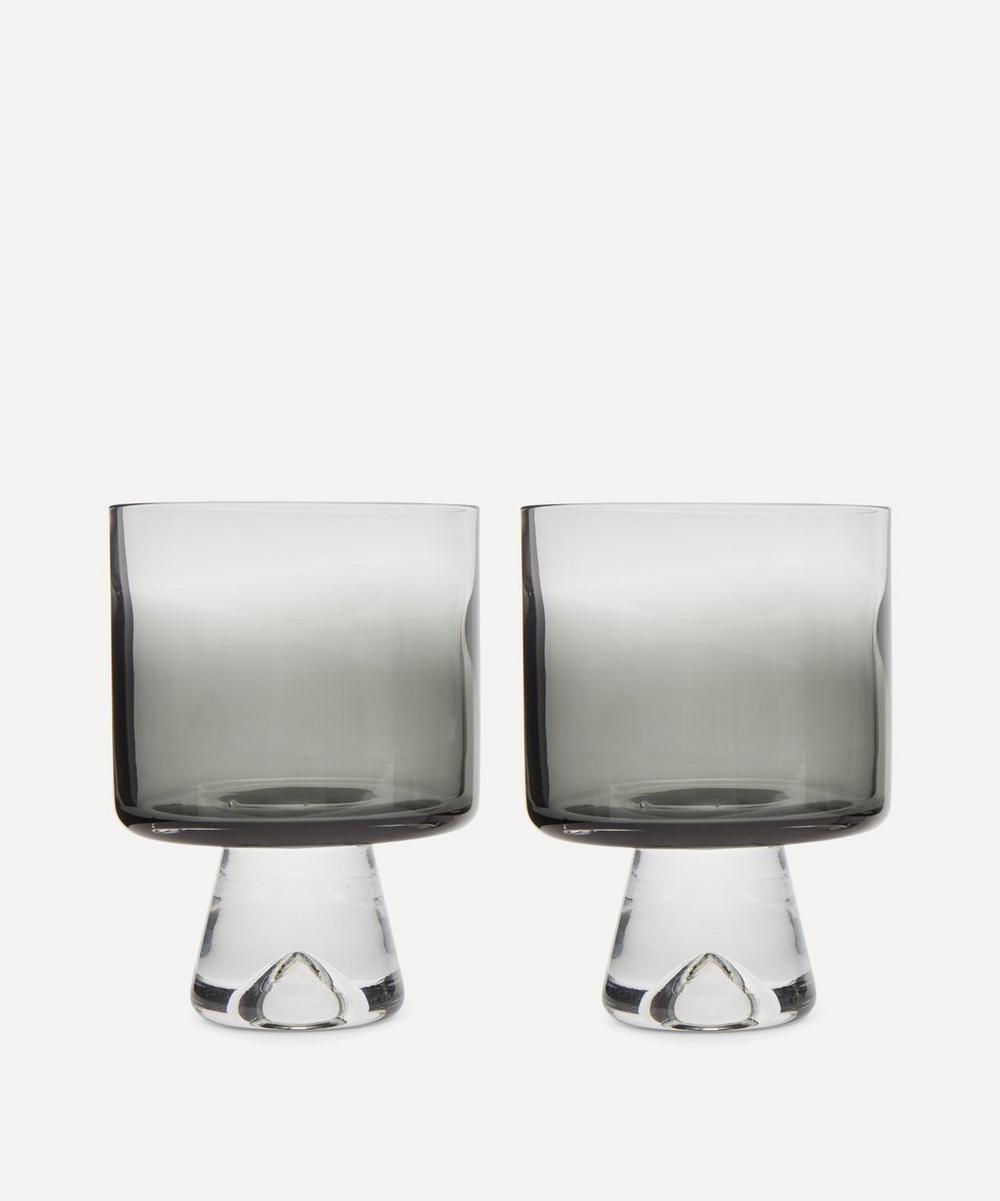 Tom Dixon - Black Tank Lowball Glasses Set