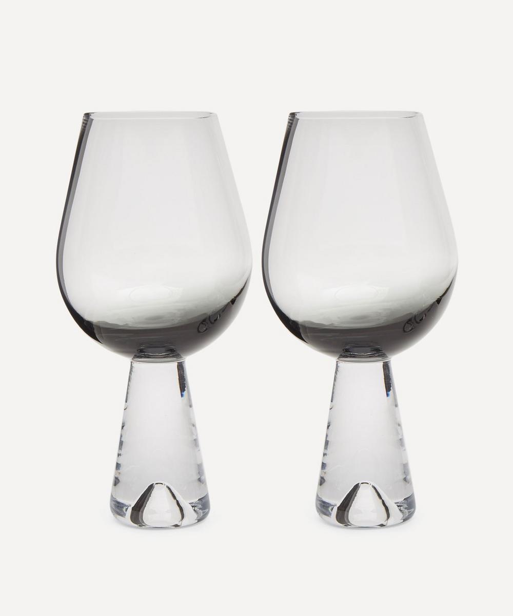 Tom Dixon - Black Tank Wine Glasses Set