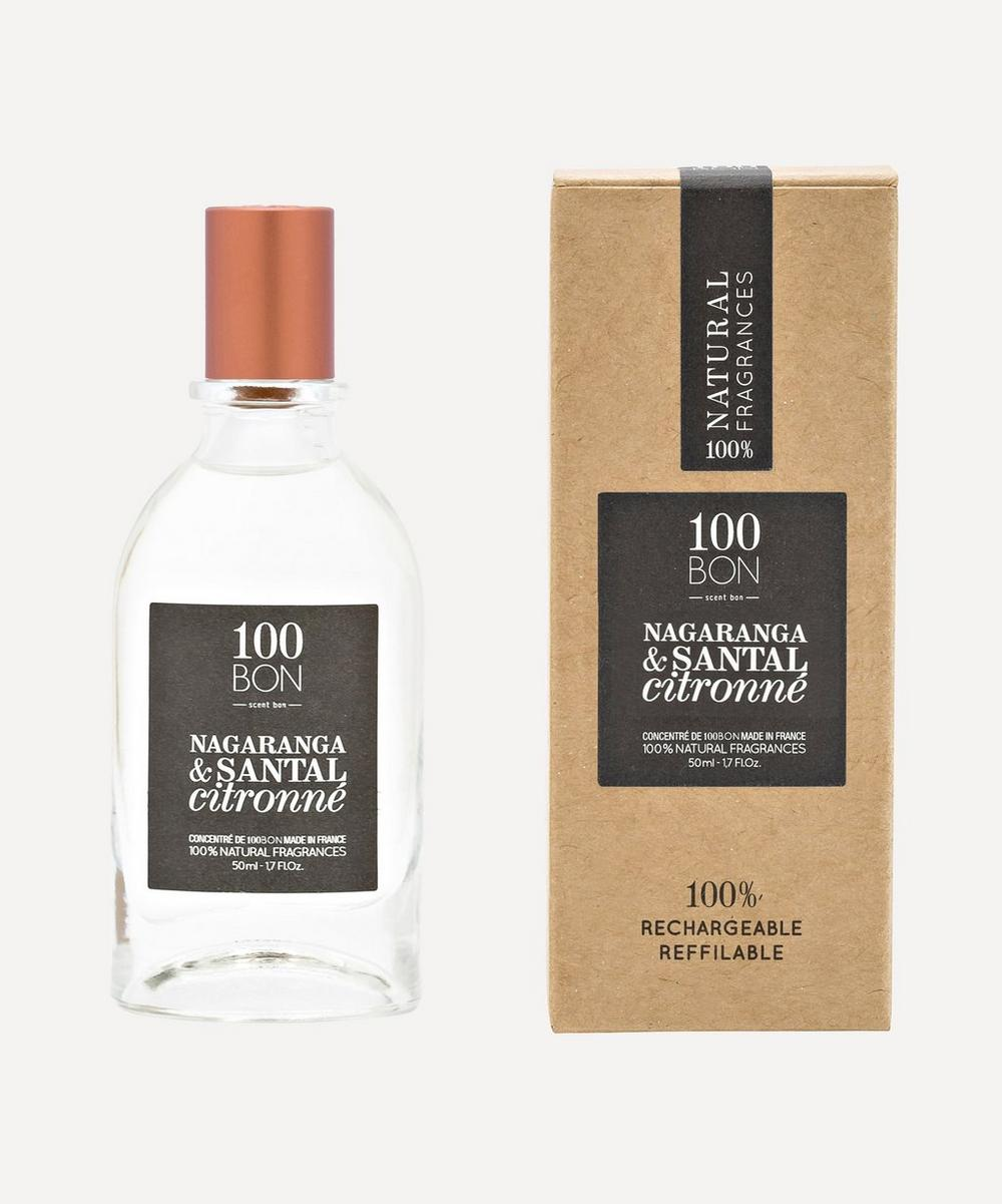100 Bon - Nagaranga and Santal Citronné Eau de Parfum Concentrate 50ml
