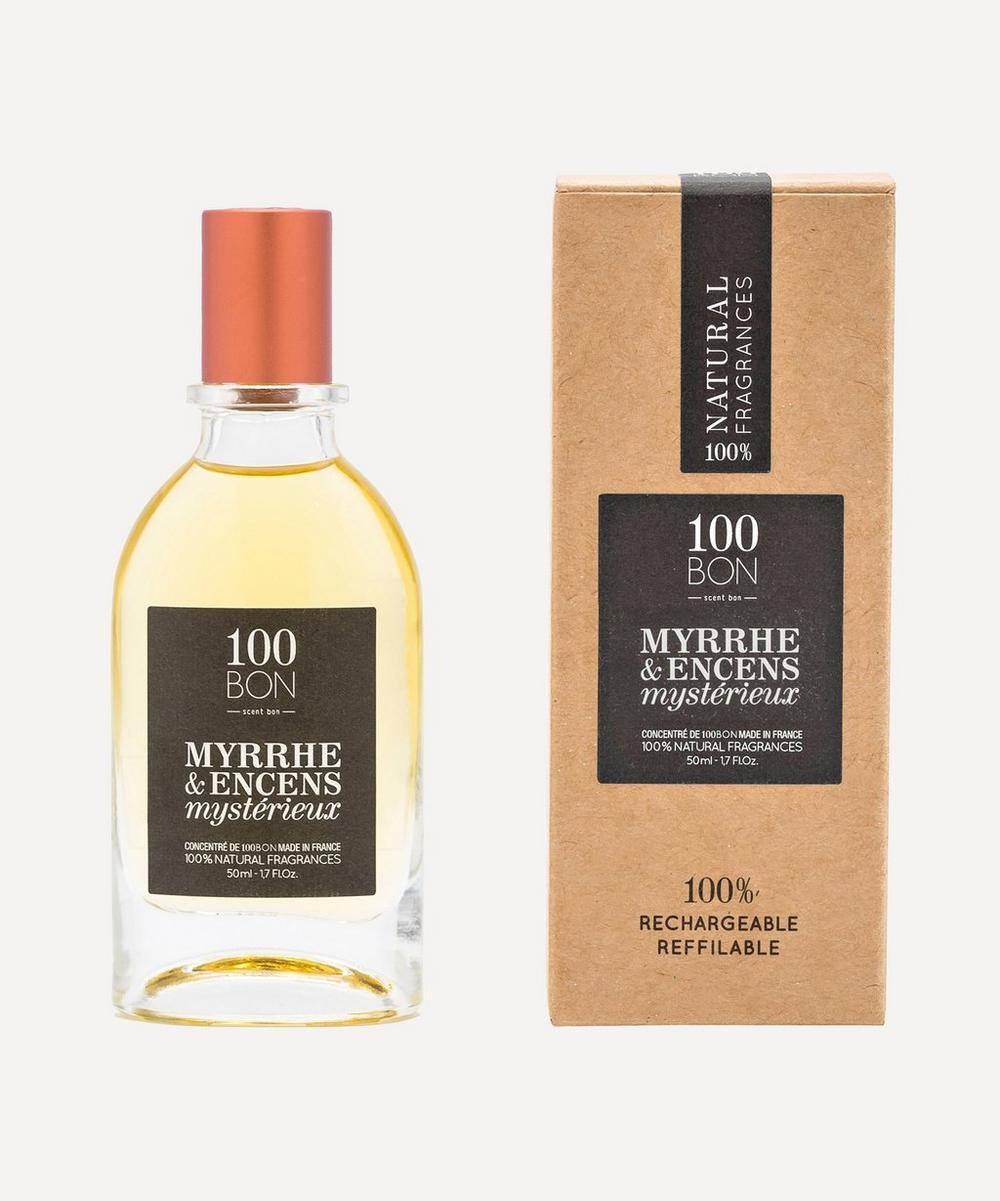 100 Bon - Myrrhe and Encens Mystérieux Eau de Parfum Concentrate 50ml