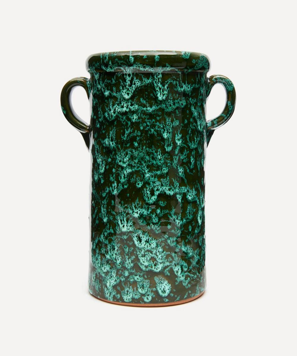 Emma Cerasulo - Tall Splatter Jar