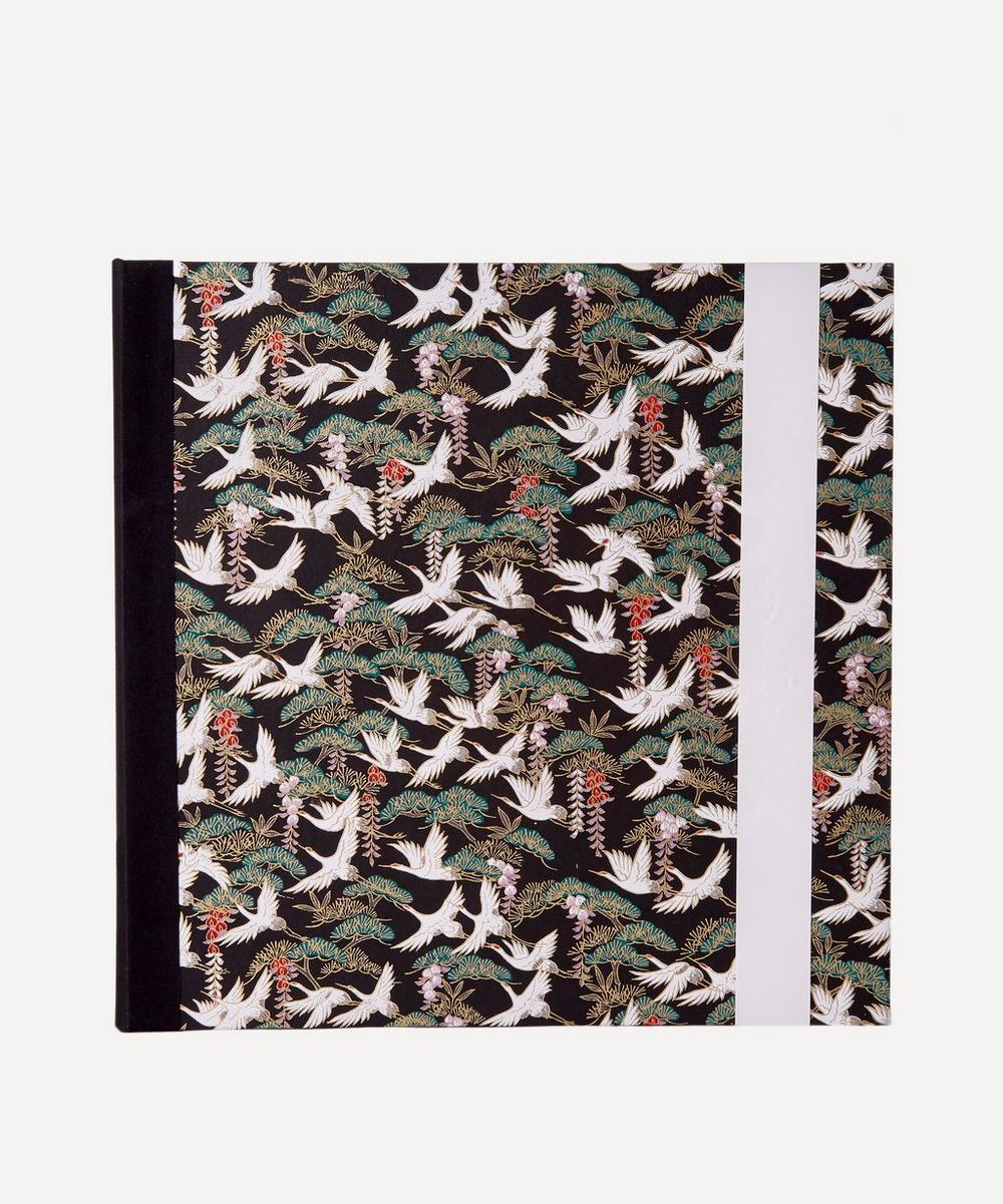 Esmie - White Cranes Large Square Photo Album