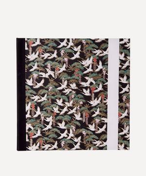 White Cranes Large Square Photo Album