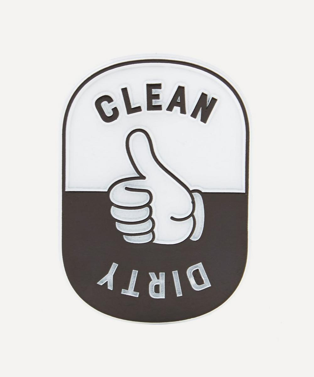 Seltzer - Clean/Dirty Rubber Magnet