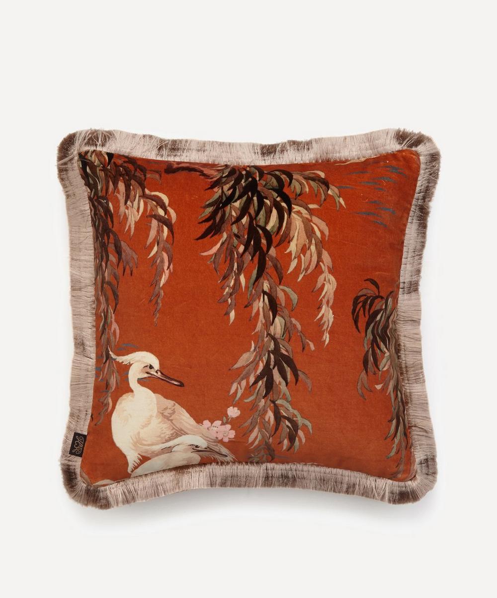 House of Hackney - Zeus Medium Fringed Cushion