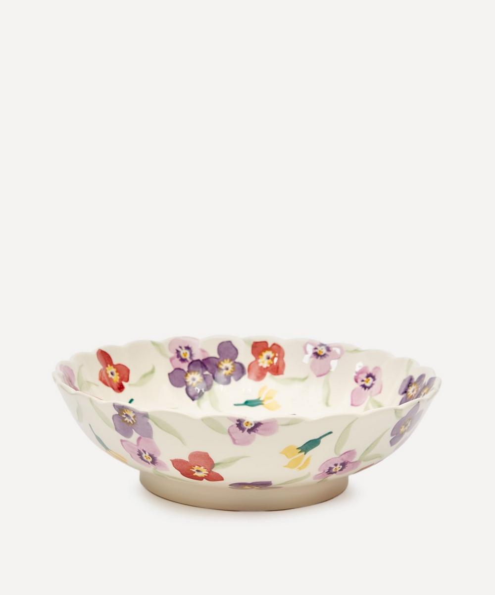 Emma Bridgewater - Wallflower Large Fluted Dish