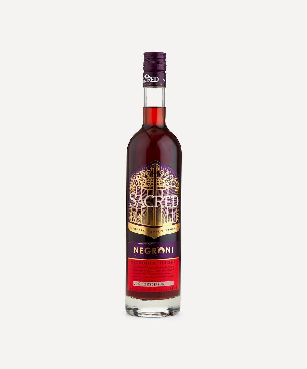 Sacred Gin - London Bottle-Aged Negroni 700ml