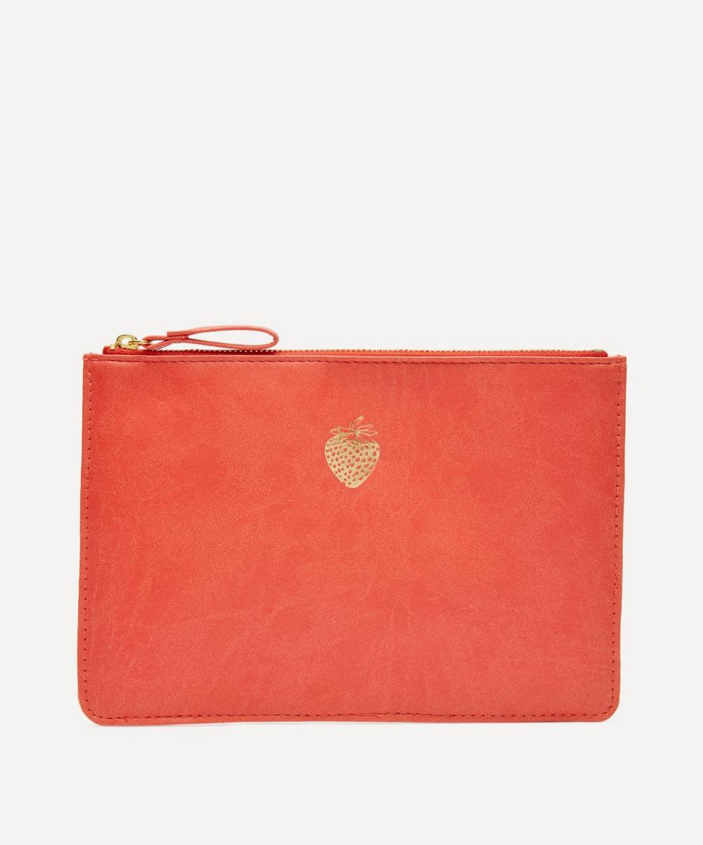 Portico - Strawberry Zip Pouch