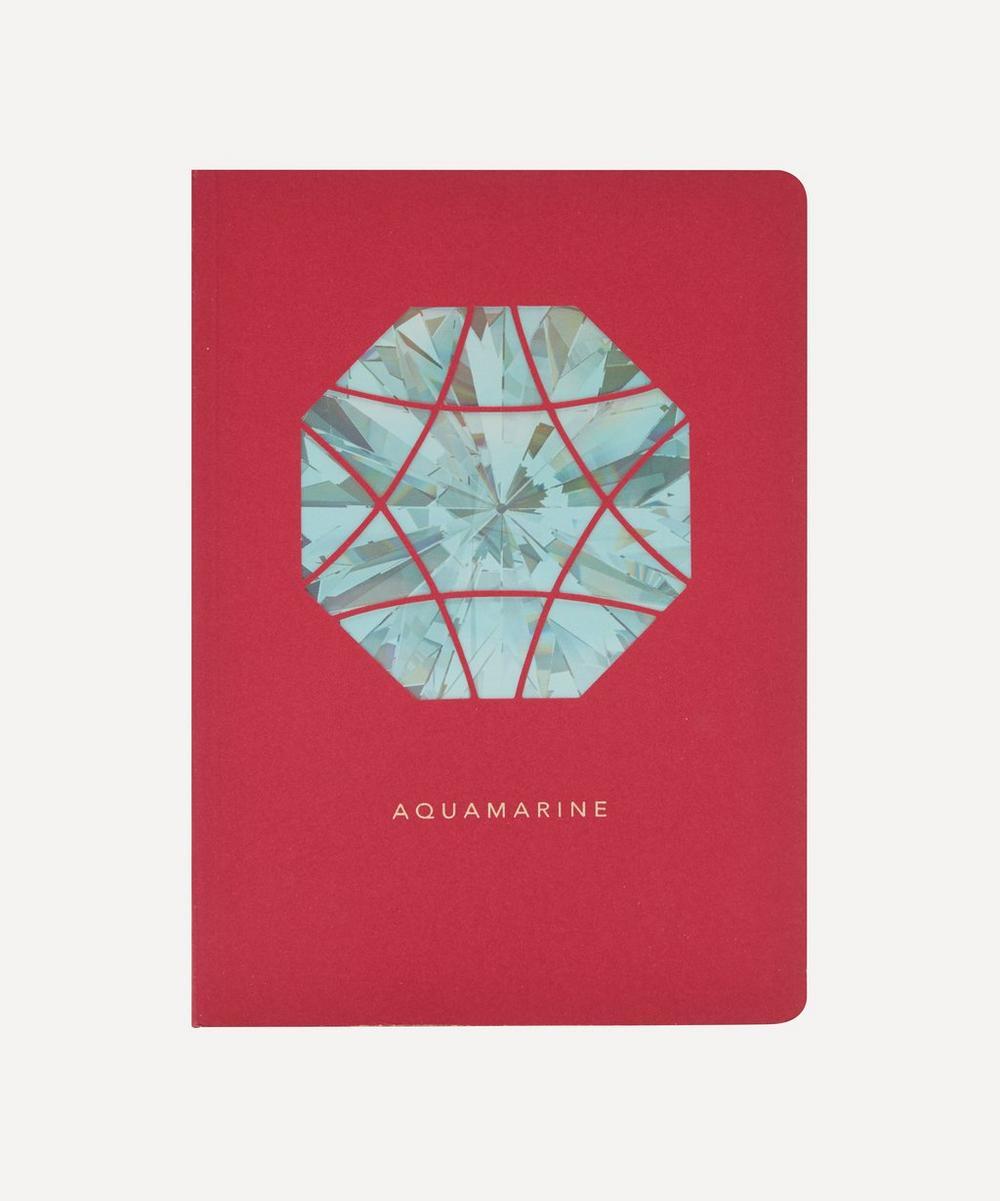 Portico - Birthstone Aquamarine Notebook