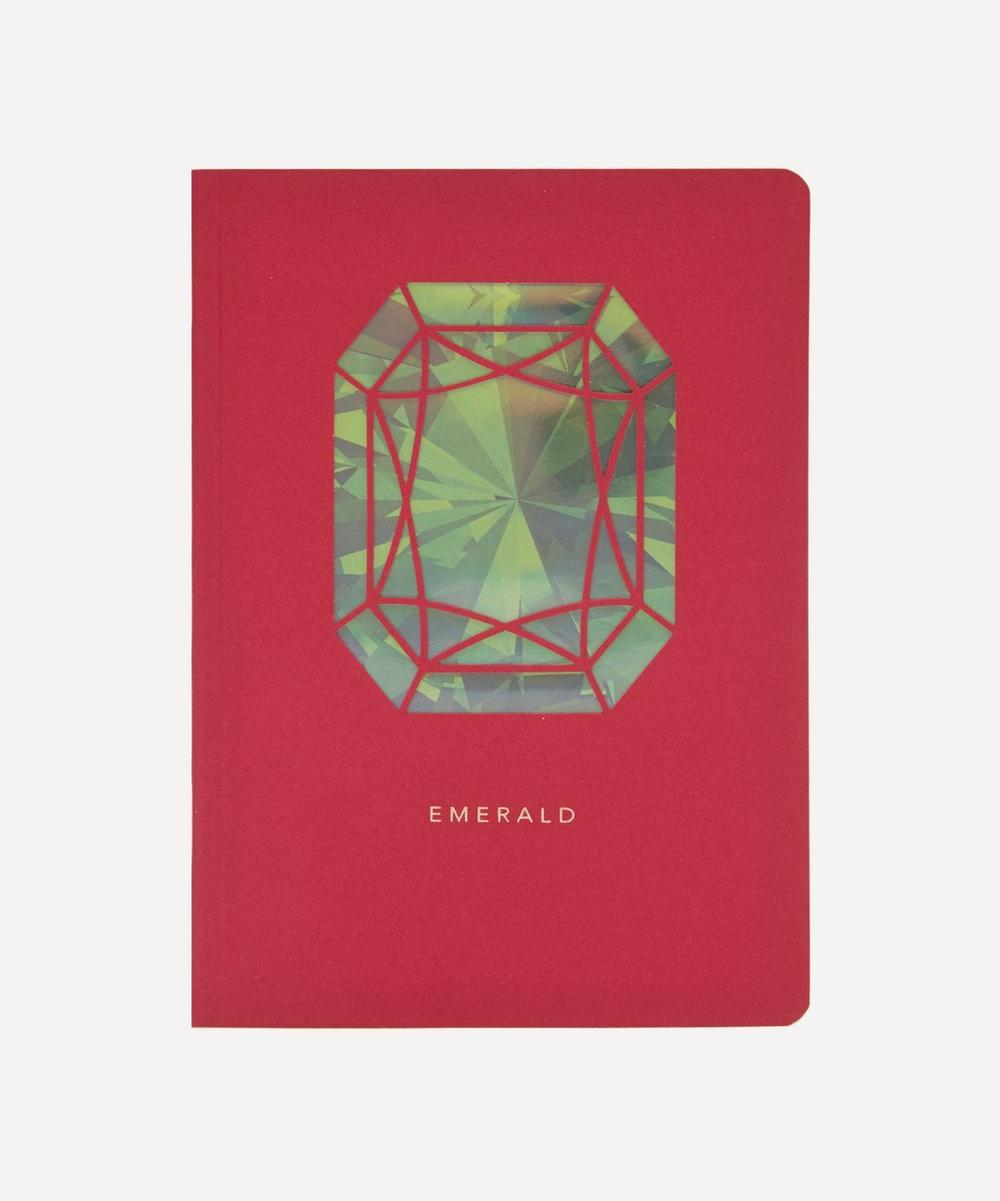 Portico - Birthstone Emerald Notebook