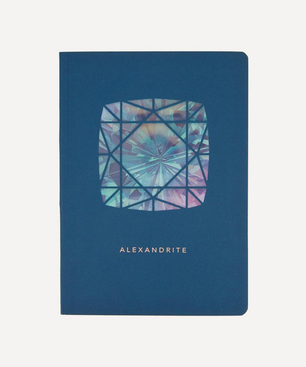 Portico - Birthstone Alexandrite Notebook