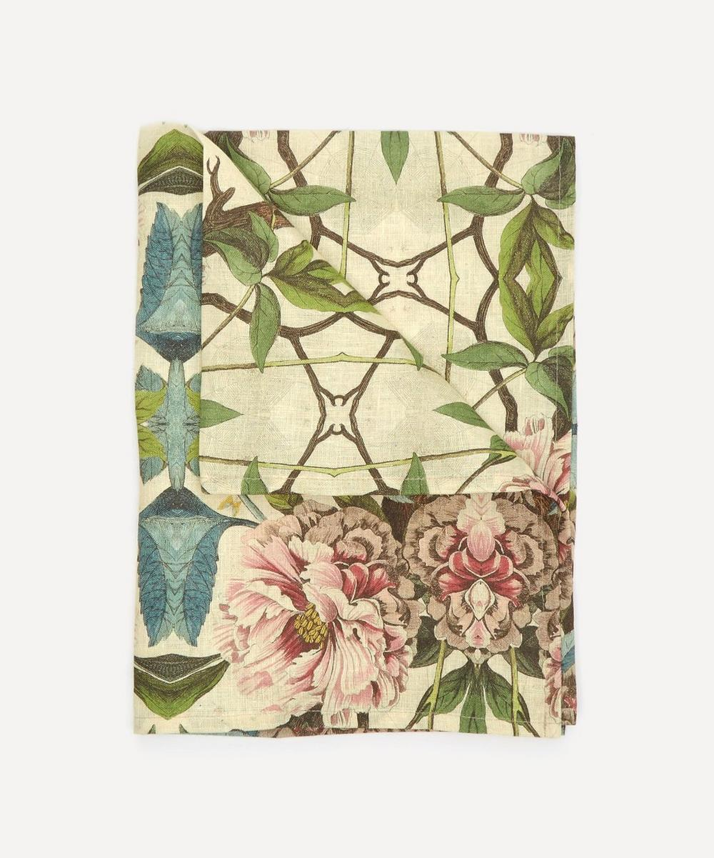 Avenida Home - Peonies Tea Towel