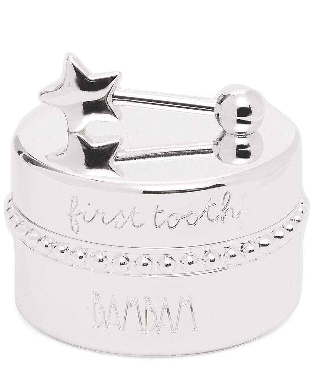 Bam Bam - Tooth Fairy Silver-Plated Box