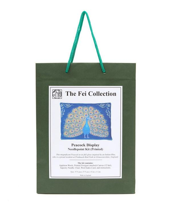 The Fei Collection - Peacock Display Needlepoint Kit