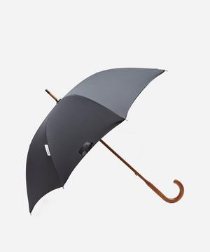Watch Tartan Interior Classic Maple Wood Umbrella