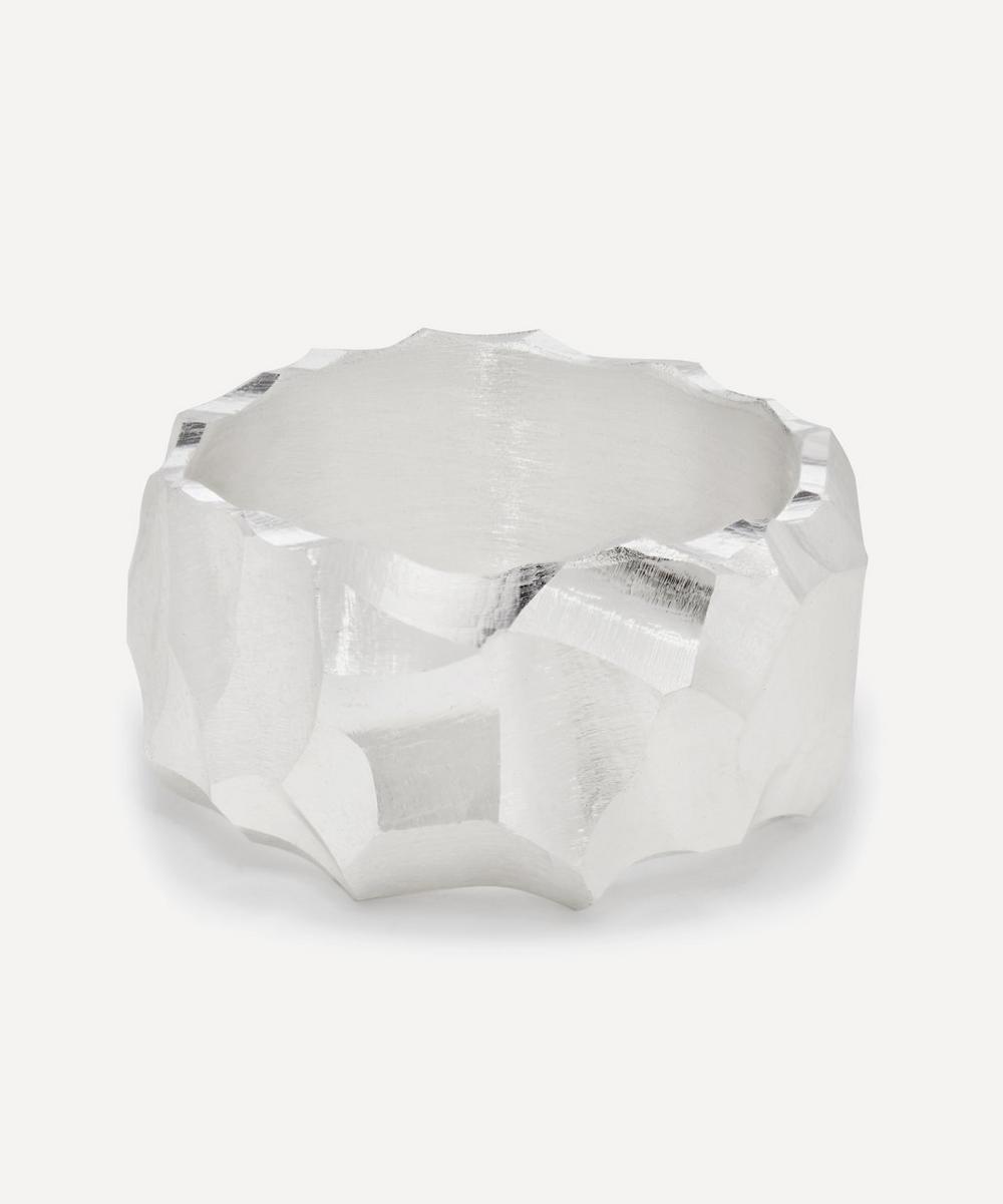 All Blues - Silver Rauk Boulder 3 Small Ring