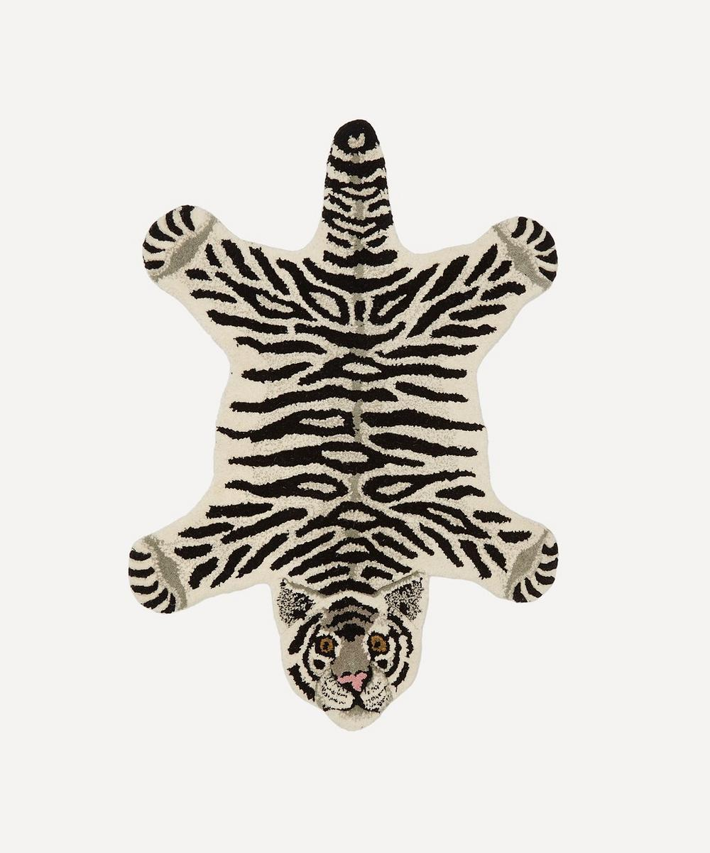 Doing Goods - Small Snowy Tiger Rug