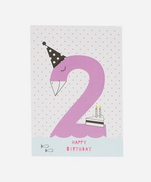 Happy Birthday Age 2 Card