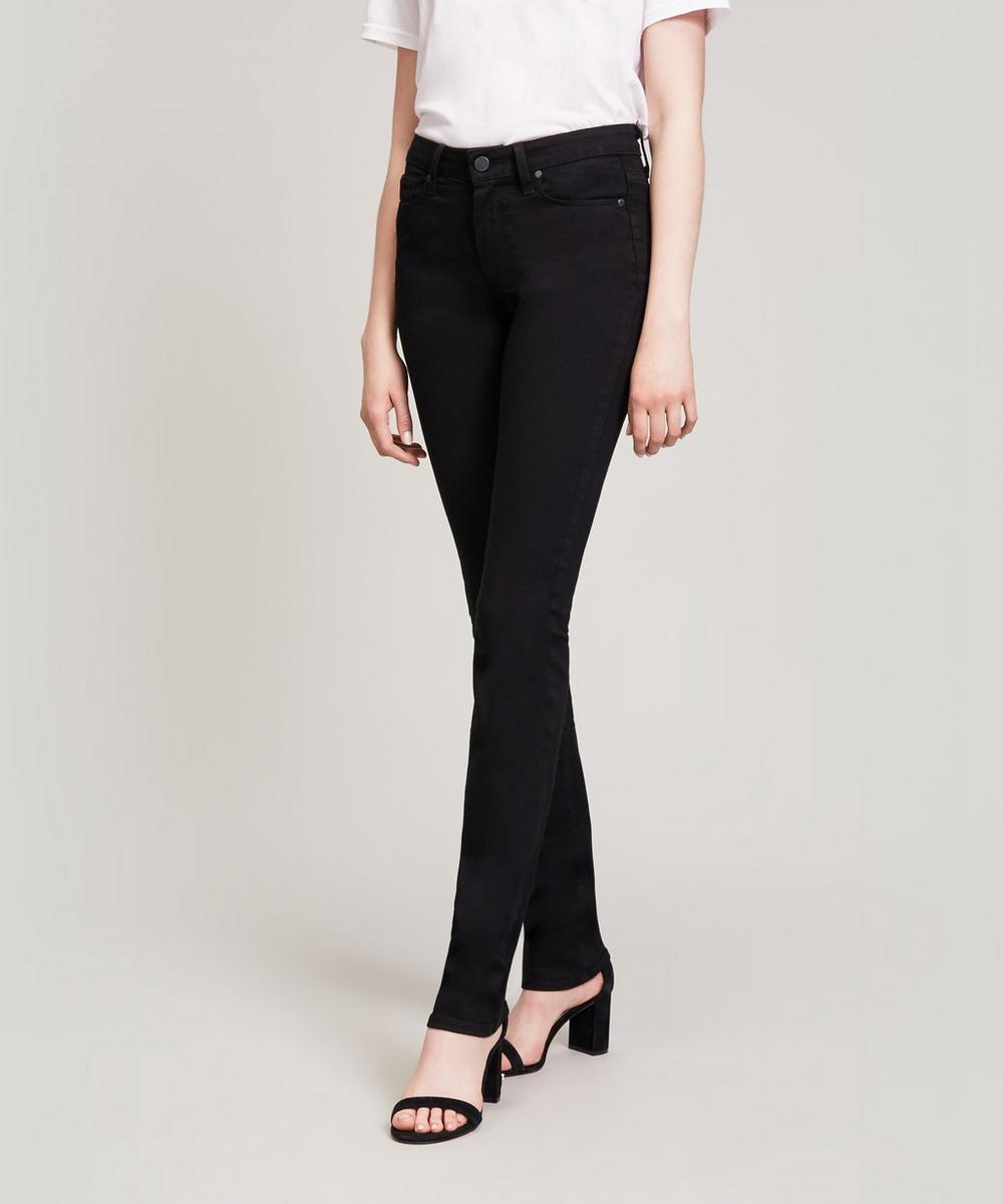 Paige - Hoxton High Rise Straight Jeans
