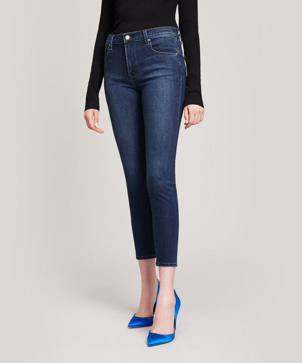 J Brand - Alana High Rise Crop Jeans