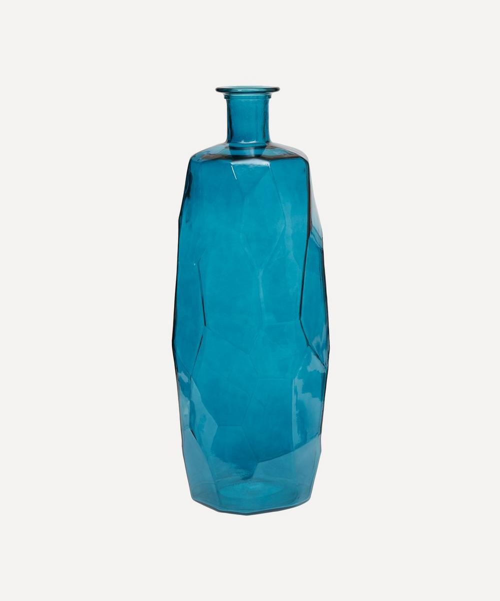San Miguel Recycled Glass - Straight Sided Origami Vase