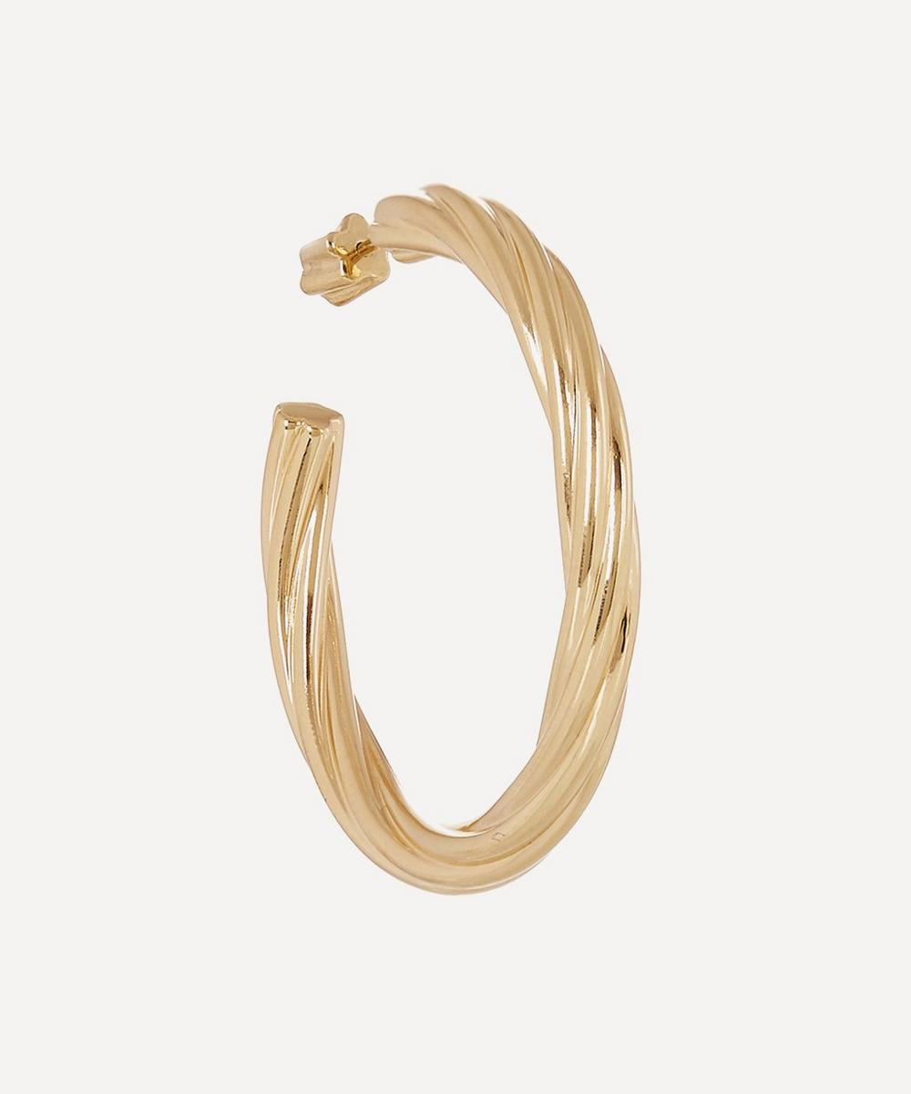 Maria Black - Gold-Plated Arsiia Hoop 45 Earring