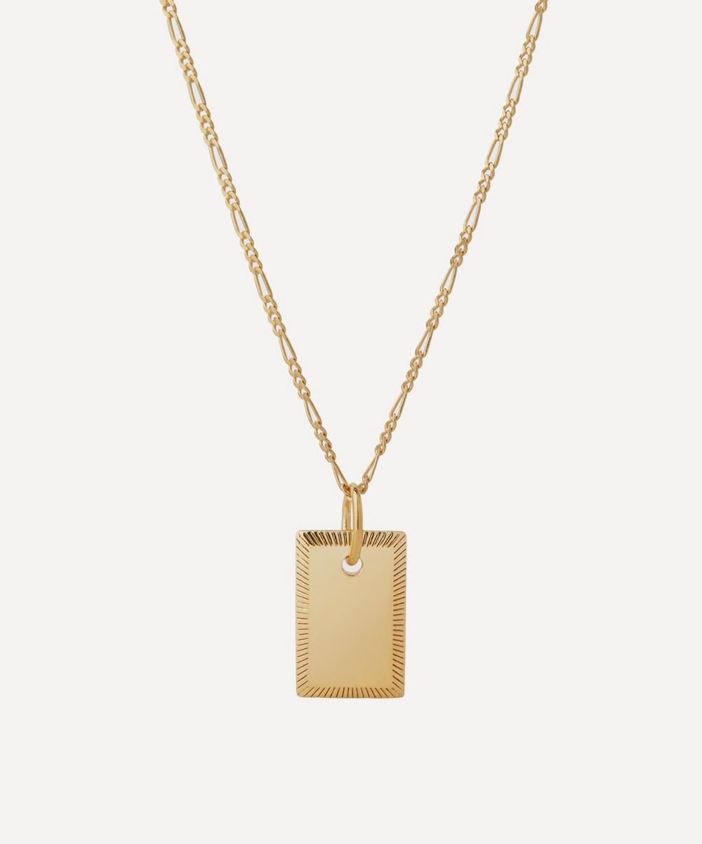 Maria Black - Gold-Plated Eliza Pendant Necklace