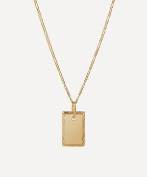 Gold-Plated Eliza Pendant Necklace