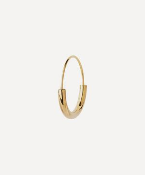 Gold-Plated Serendipity Small Hoop Earring