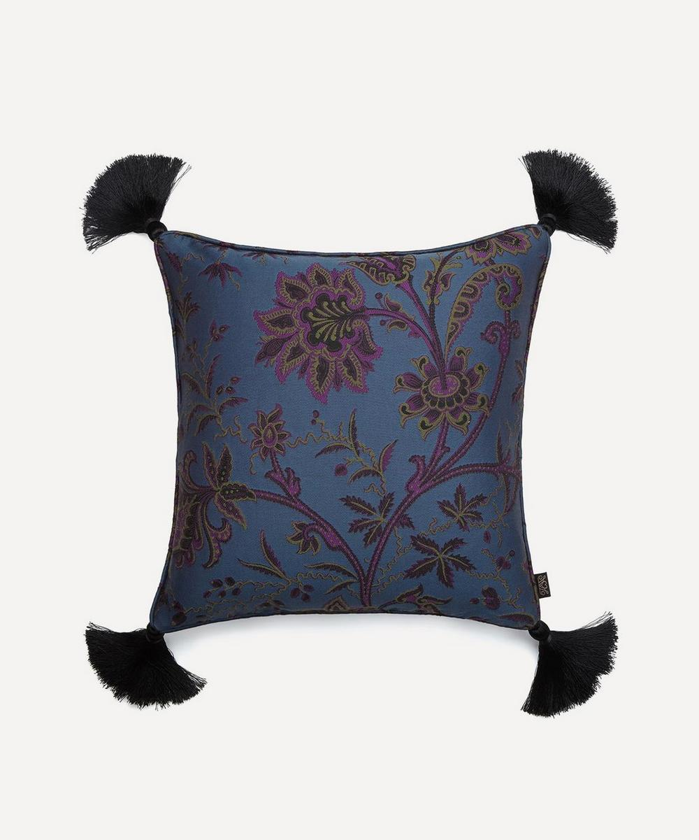 House of Hackney - Medium Indienne Tasselled Jacquard Cushion