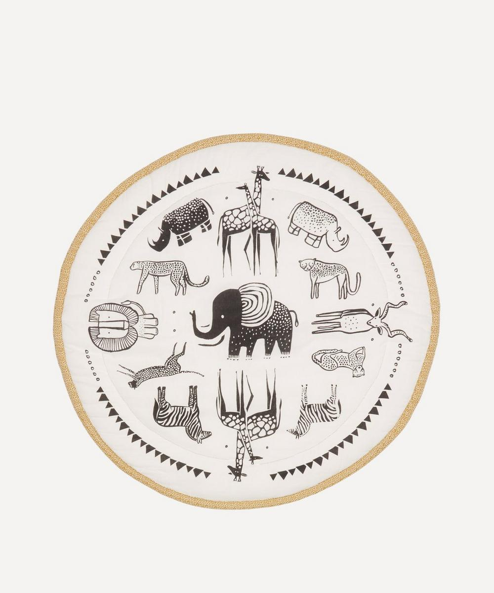 Wee Gallery - Safari Print Organic Cotton Play Mat