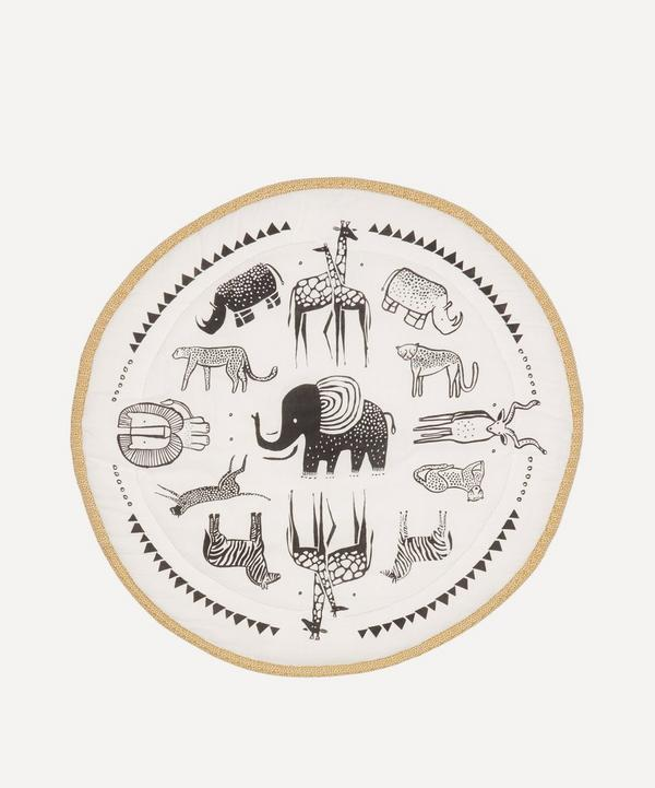 Wee Gallery - Safari Print Organic Cotton Play Mat