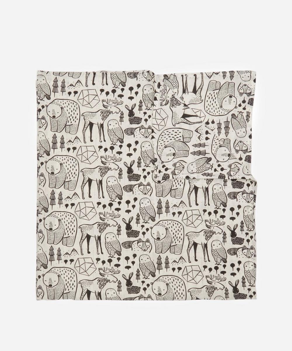 Wee Gallery - Nordic Organic Muslin Swaddle