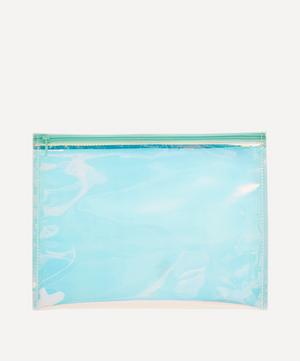 Paper Poetry Large Holographic Pouch