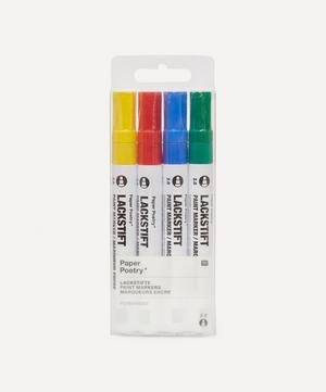 Paper Poetry Paint Markers Set of Four