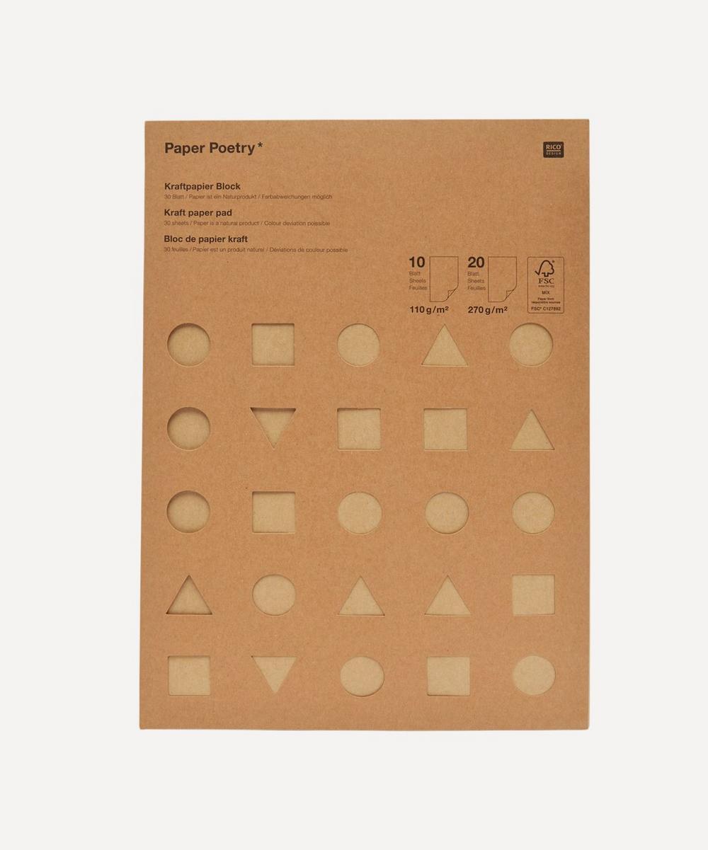 Rico Design - Paper Poetry Kraft Paper Pad