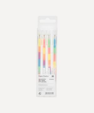 Neon Rainbow Gel Pen Set
