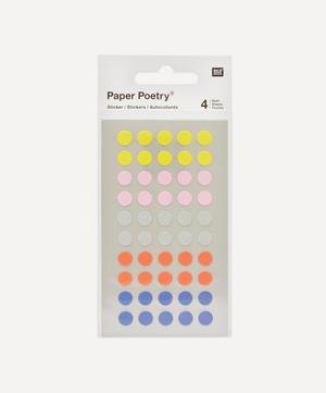 Paper Poetry Small Dots Office Stickers