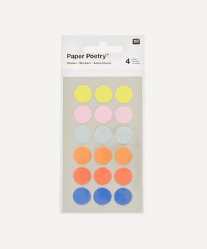 Paper Poetry Medium Dots Office Stickers